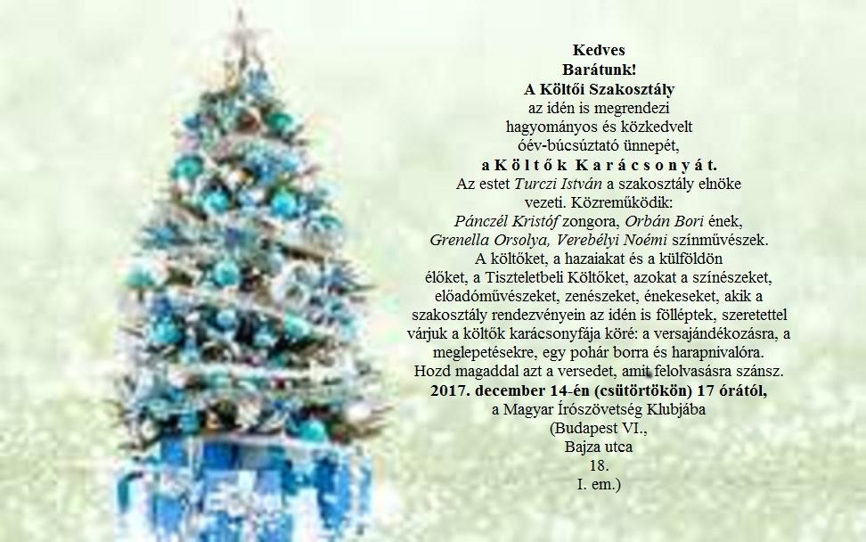 Költők Karácsonya (2)